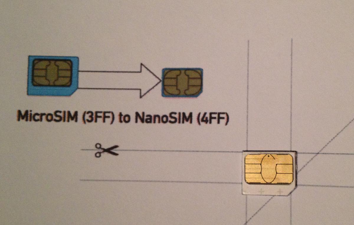 Как сделать сим карту на iphone 331