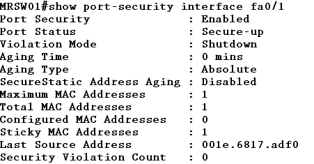 How to* Port Security – MAC Address Security – Cisco Switch